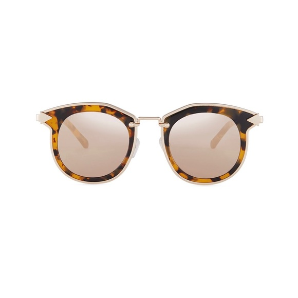 f8948f37f04f6 Karen Walker Bounty Crazy Tort Sunglasses